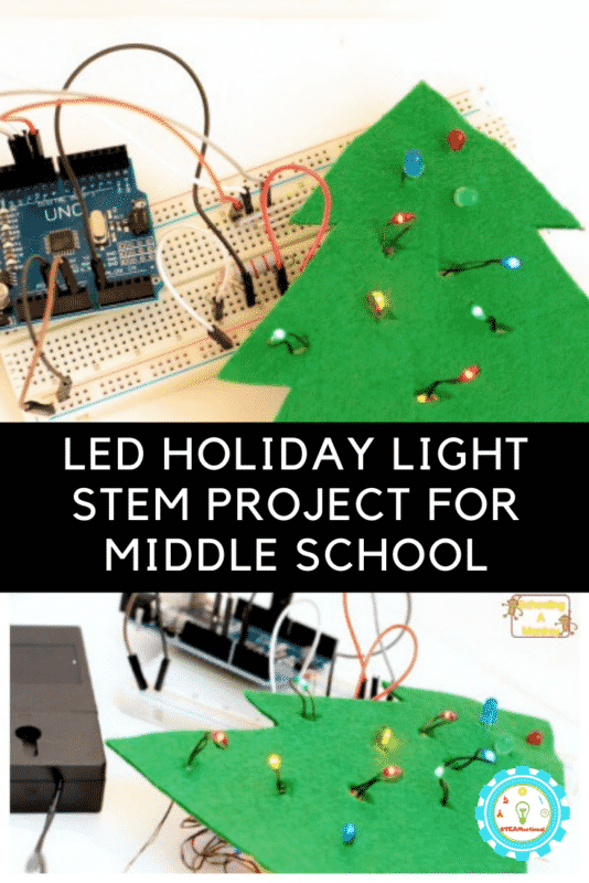 stem projects with led lights