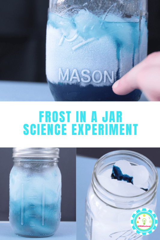 frost in a jar science experiment