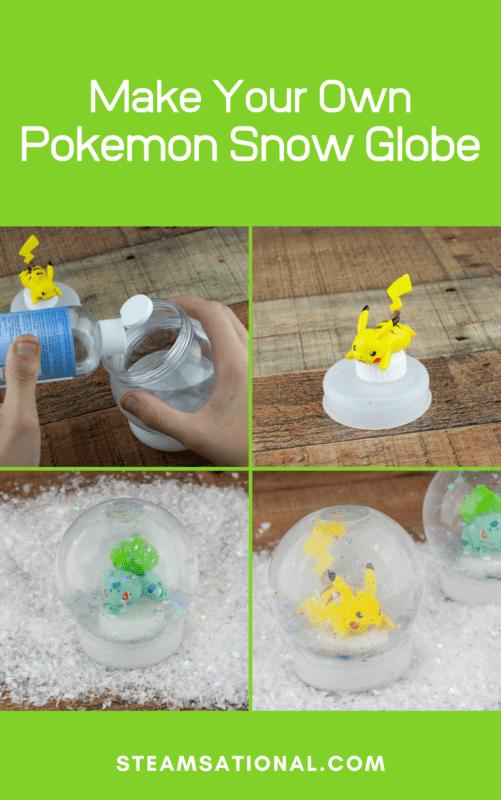 pokemon snow globe