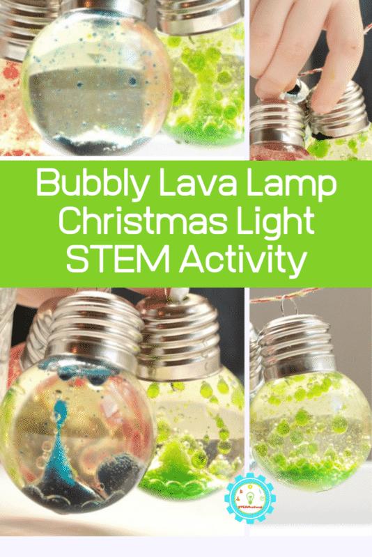 bubbly lava lamp stem activity