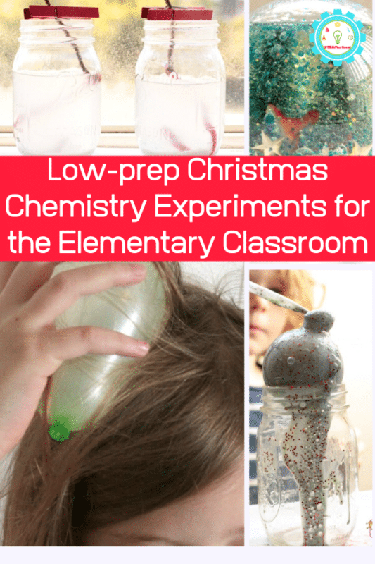 low prep chemistry experiments