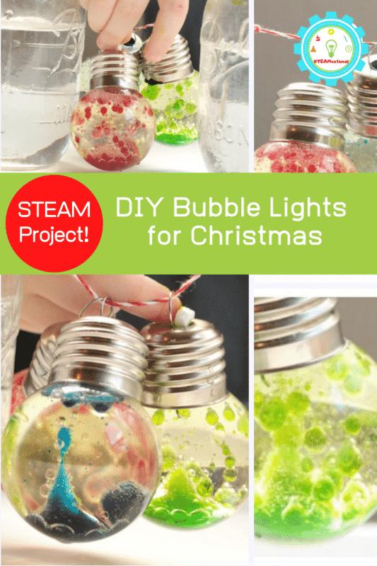 diy bubbleA lights