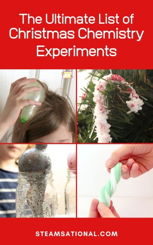 ultimate list christmas chemistry experiments