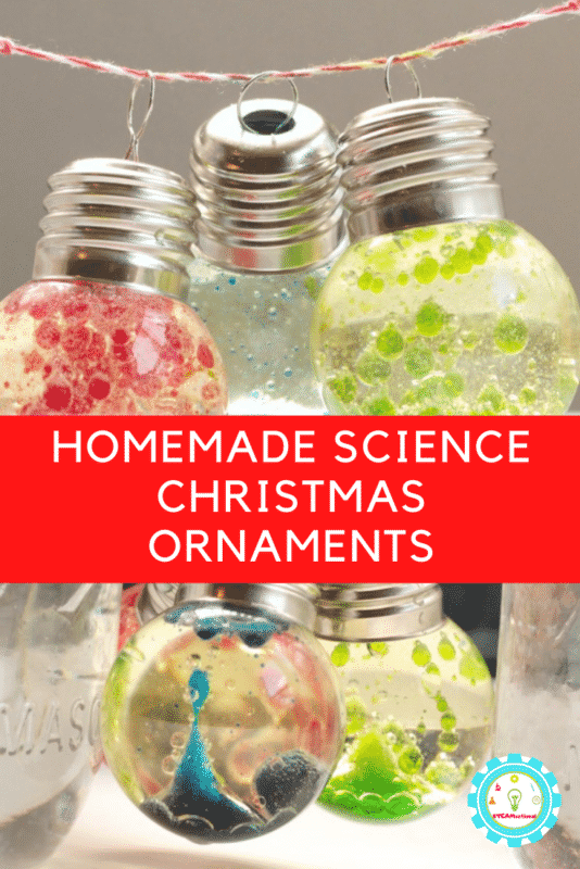 homemade science christmas ornaments