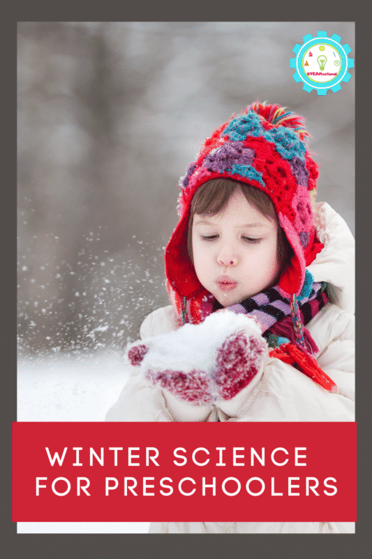 Winter science for preschoolers is a lot of fun, but a lot require snow! These preschool winter science experiments don't take snow!