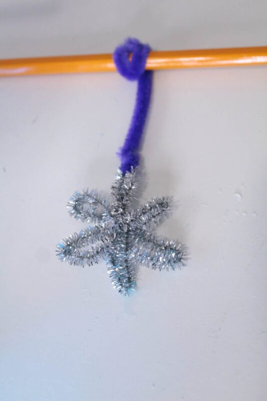snowflake pattern for borax crystals