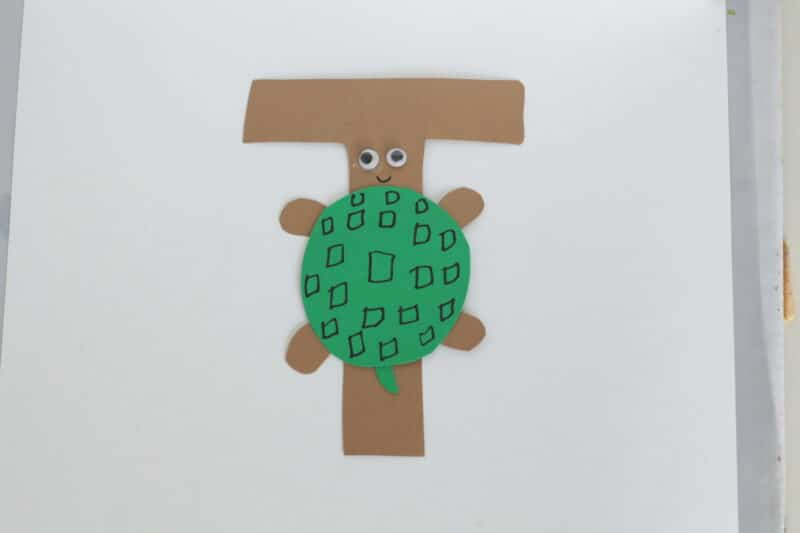 t is for turtle craft