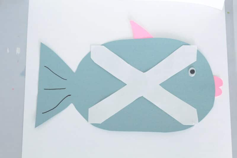 x is for xray fish craft