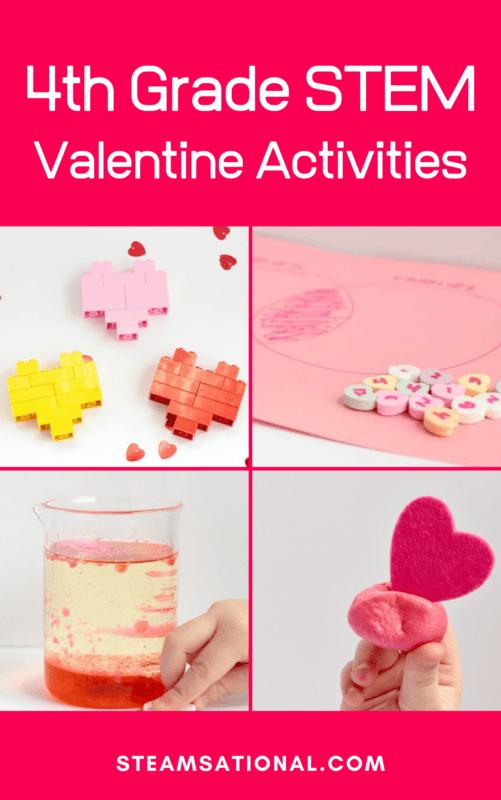 4th grade valentines day stem