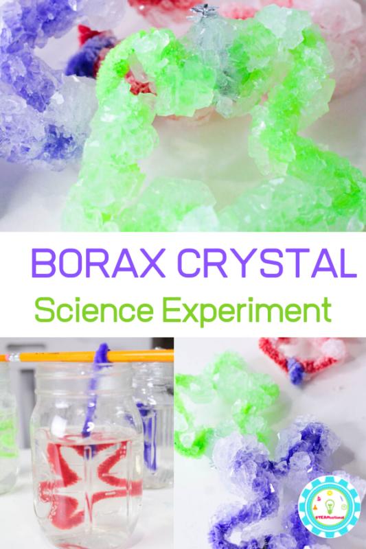 borax crystal recipes