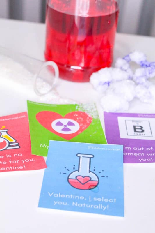 chemistry valentines puns