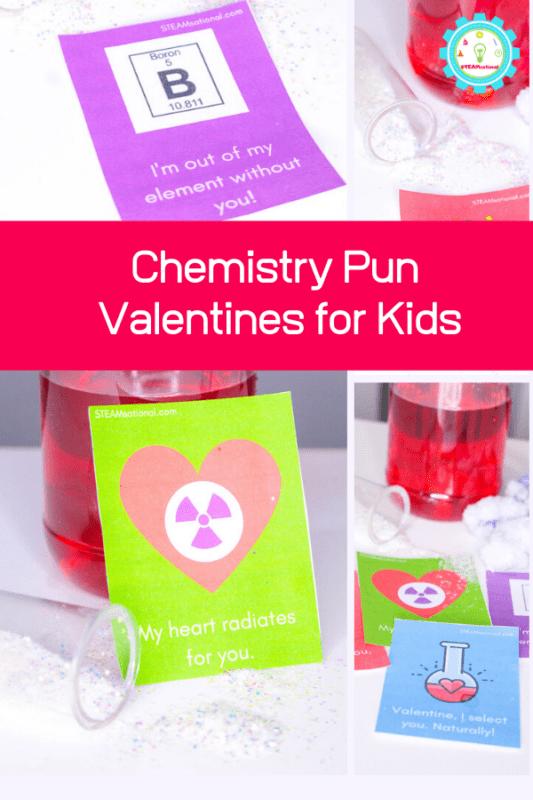 chemistry pun valentines