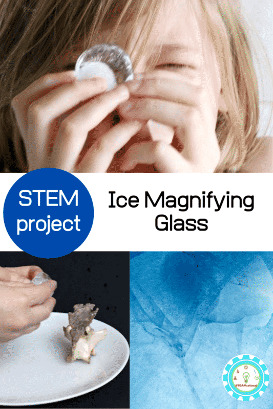 ice magnifying glass