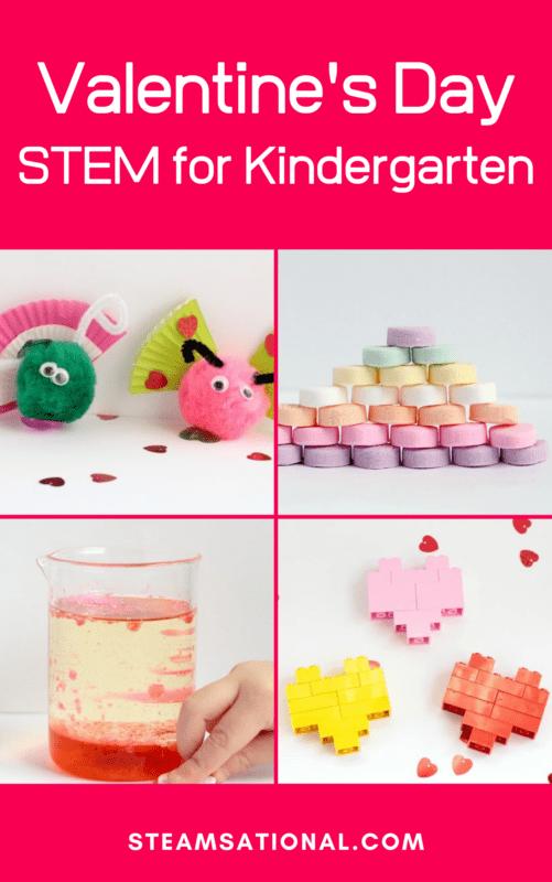 kindergarten valentines stem