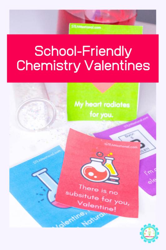 school-friendly chemistry valentines