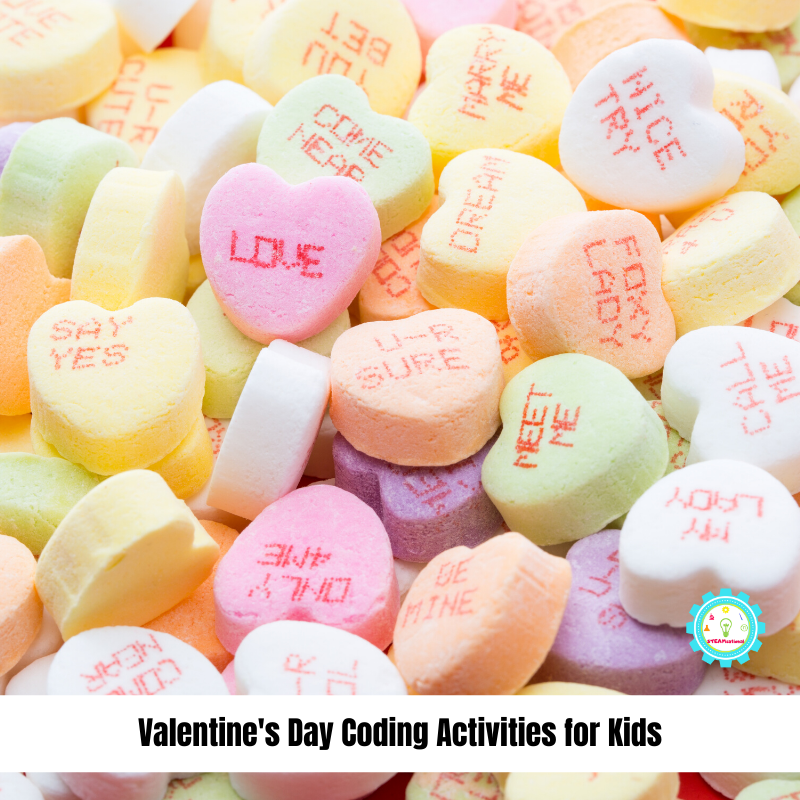 valentine coding activities