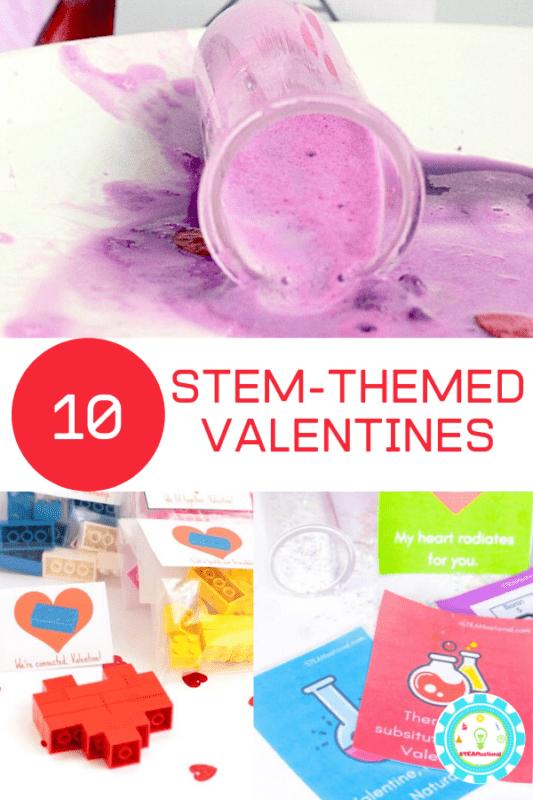 stem valentines for kids