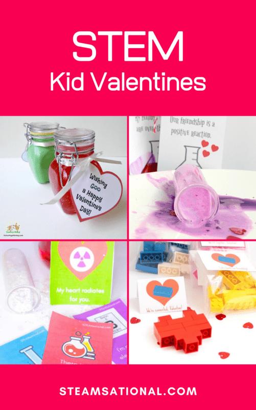 stem theme valentines