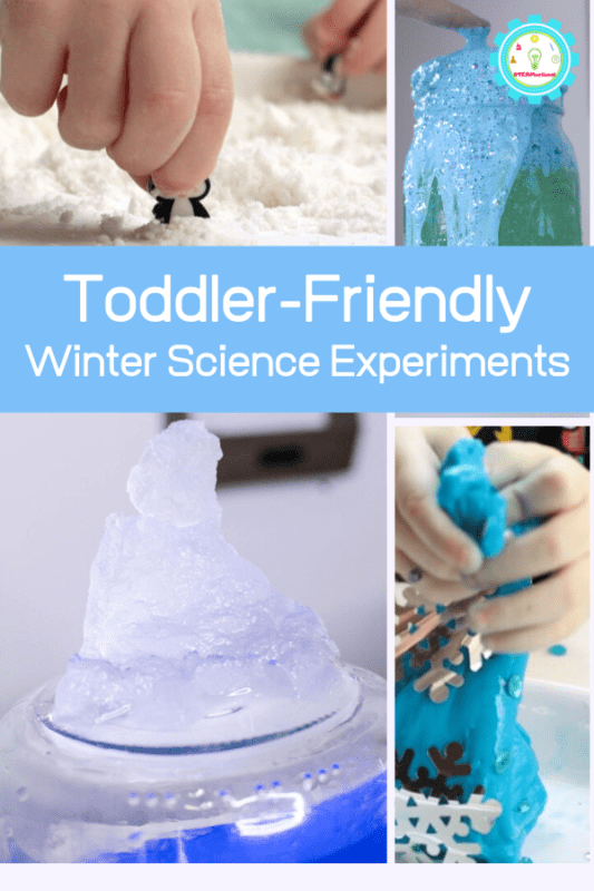 toddler winter science experiments