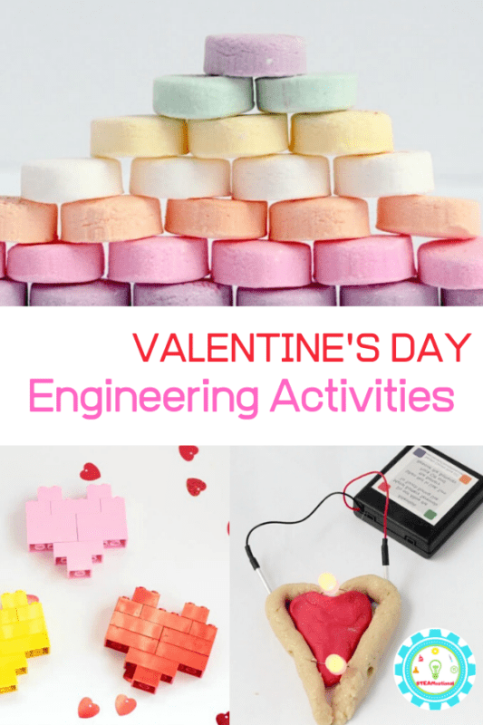 Looking for Valentine engineering challenges? These creative engineering activities for Valentine's Day are suitable for any classroom.
