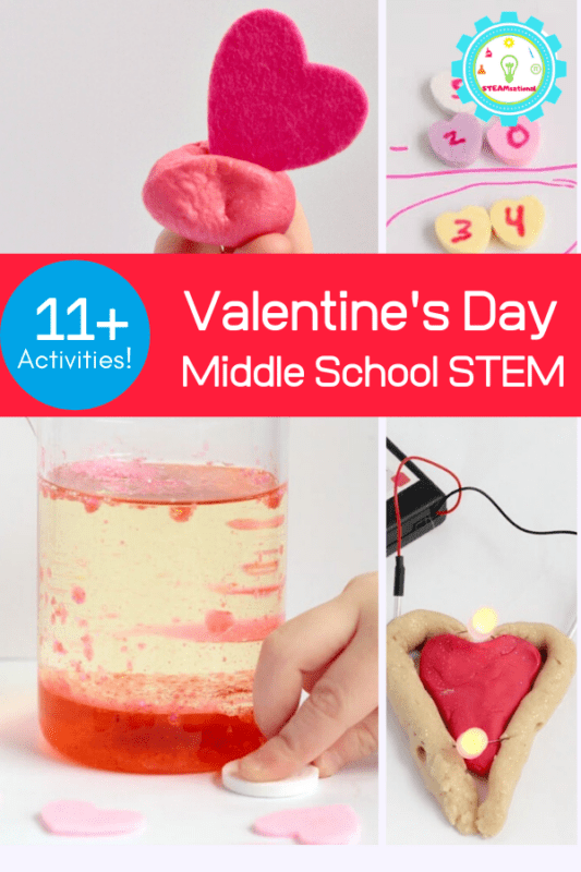 Middle school isn't as fun as elementary school, just ask any 6th grader. But when you introduce Valentine STEM activities for middle school to your students, some fun is put back into science.
