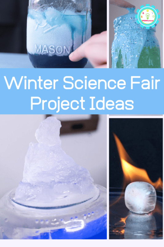 science fair projects for winter