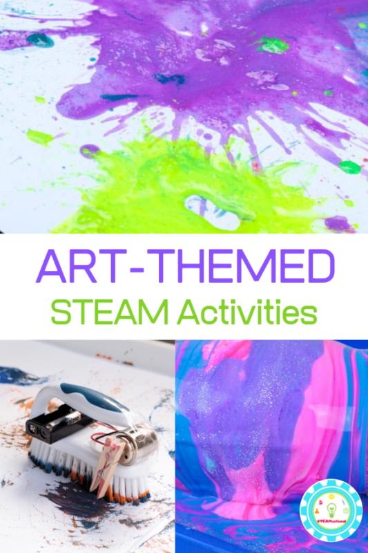 art themed steam activities