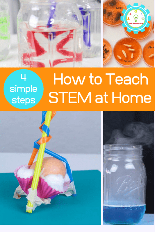 how to teach stem at home