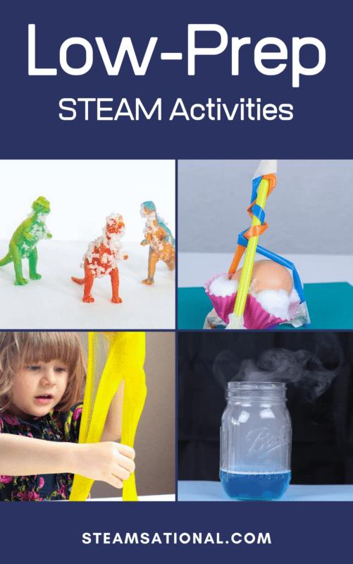low prep stem activities