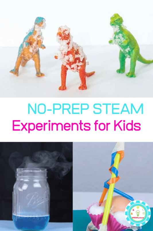 no prep steam activities