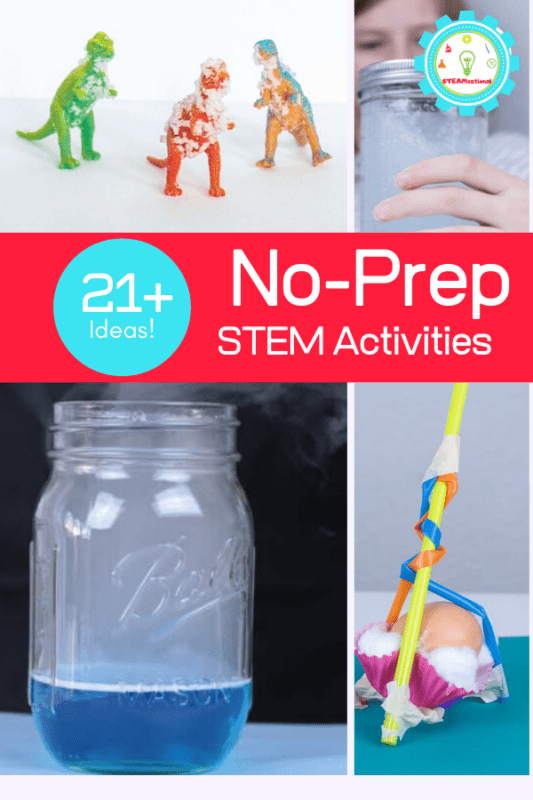 This list of no-prep STEM activities right here that will help save your time and sanity in and out of the classroom.