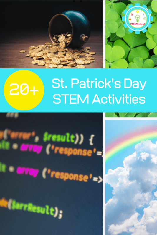 Bring some STEM activities to the holiday with these hands-on St. Patrick's Day STEM activities for kids!