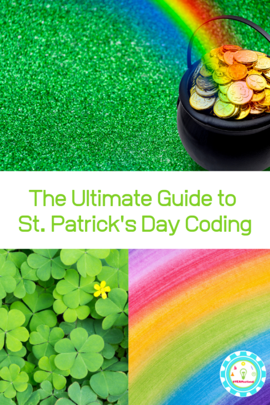 Feel like getting lucky in coding this St. Patrick's Day? These fun St. Patrick's Day coding activities will bring the holiday to life on and off the screen.
