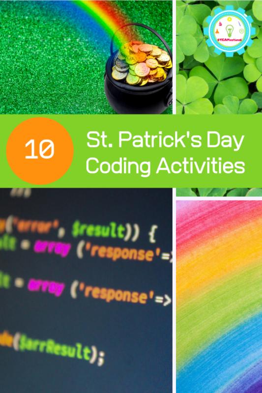 st patricks day coding ideas