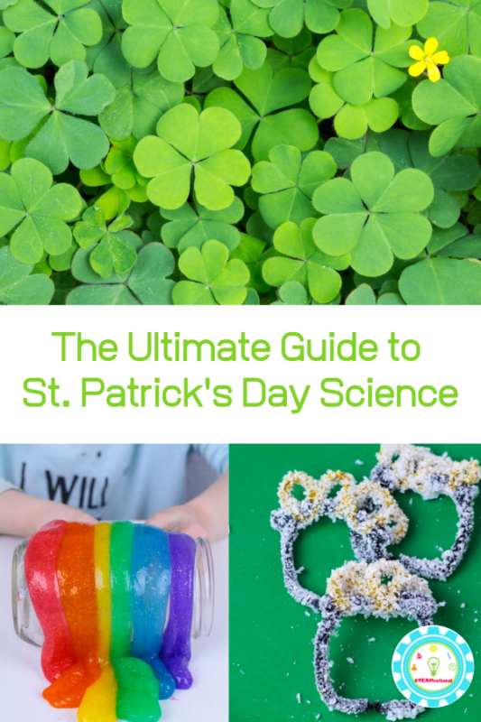 st patricks day science activities
