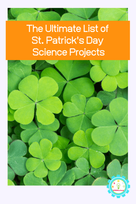 st patricks day science projects