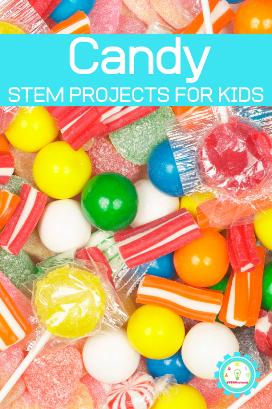 stem projects with candy