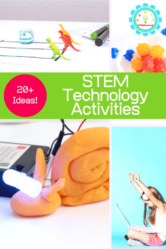 Use these technology activities for kids to help explore the technical side of STEM and prepare children to live and work in a society steeped in technology and change.