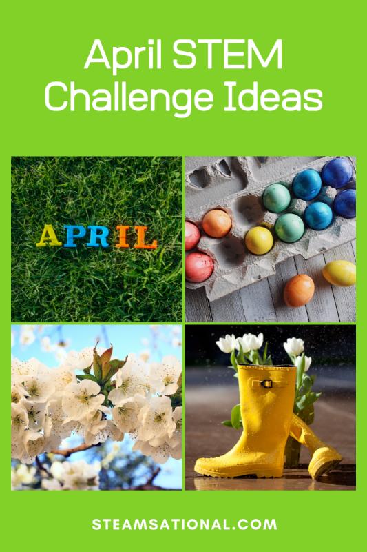april stem challenge ideas