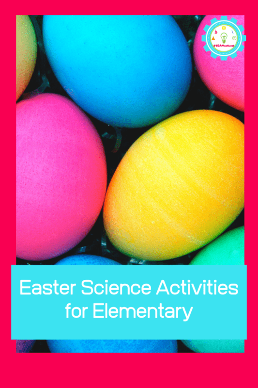 There is so much fun science to learn during spring with the weather, life cycles, animal science, and a lot more! This Easter, try these fun Easter science activities for elementary students!