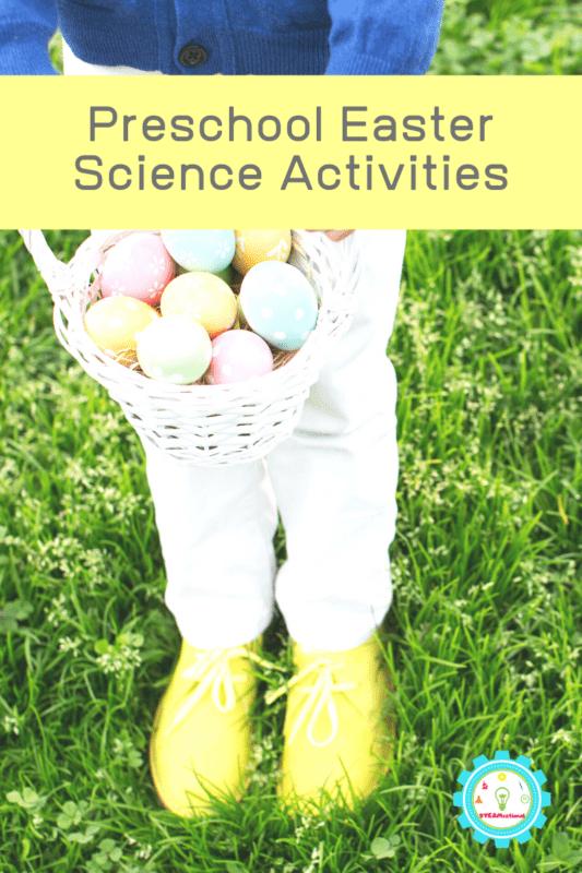 easter science activities for preschool