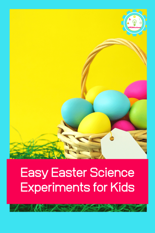 If you love STEM activities for kids and easy science experiments for kids, then you'll enjoy this list of Easter science experiments!