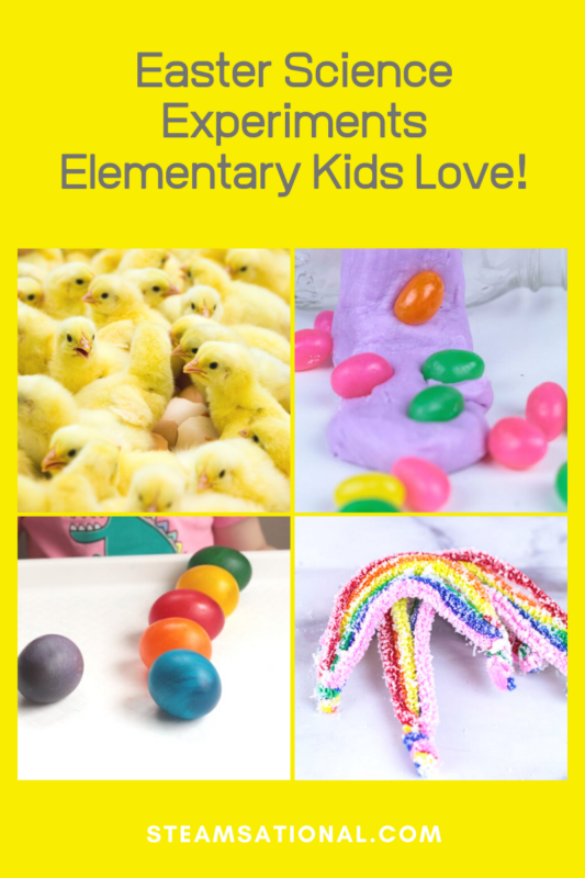 easter science experiments elementary