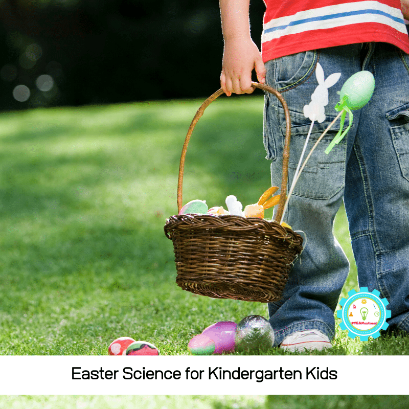 Celebrate spring with Kindergarten Easter activities! These Easter science experiments for kindergarten are perfect for bringing spring inside!