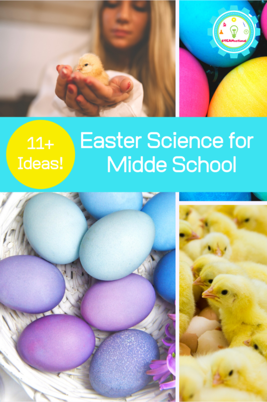 easter science projects middle school