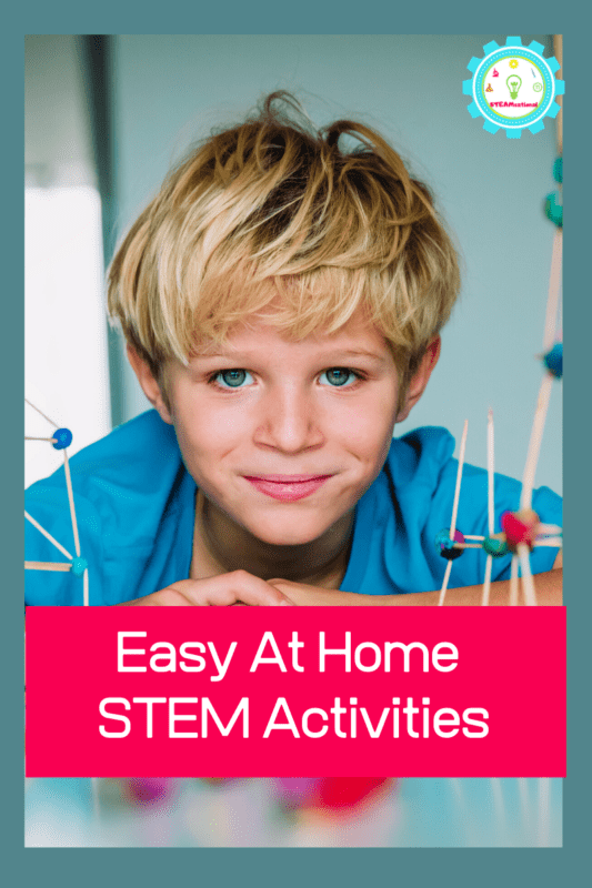 If you want your kids to keep doing educational activities at home, it's the perfect time to try STEM activities at home!