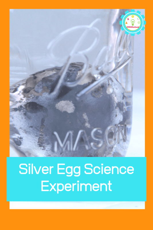 easy silver egg science