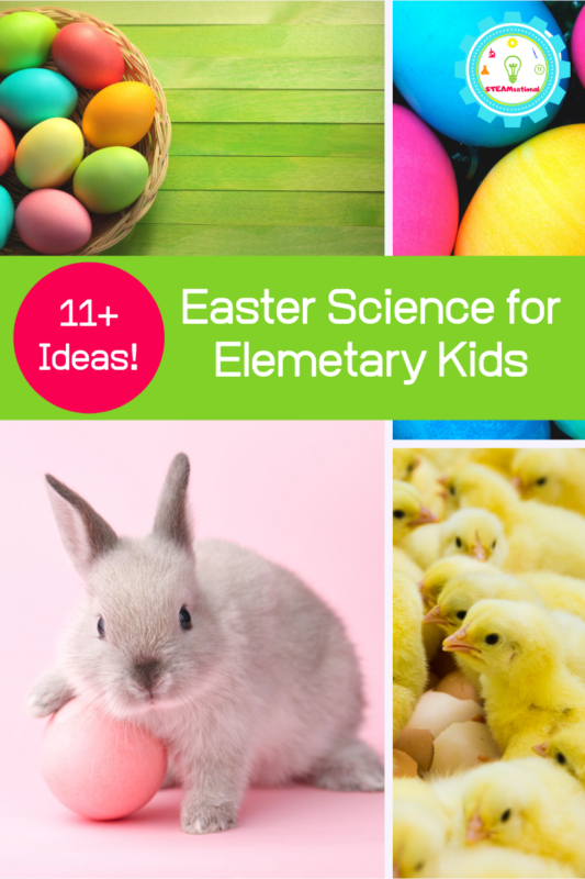 easter science projects elementary