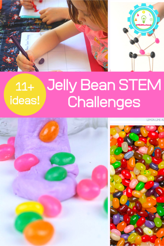 jelly bean stem challenges