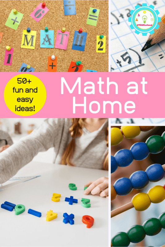 math activities at home